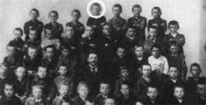 Hitler school photo